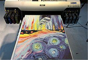 គំរូផ្ទាំងក្រណាត់ពី A2 UV Printer WER-EH4880UV