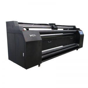 WER-E1802T 1.8m ដោយផ្ទាល់ទៅនឹងម៉ាស៊ីនបោះពុម្ពវាយនភ័ណ្ឌជាមួយនឹងម៉ាស៊ីនបោះពុម្ភ sublimation 2 * DX5