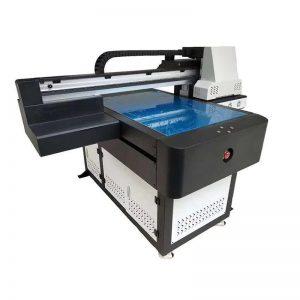 ពហុមុខងារដែលមានគុណភាពខ្ពស់ DTG flatbed ម៉ាស៊ីនបោះពុម្ព UV LED ក្បាល UV ricoh សម្រាប់ឈើ WER-ED6090UV